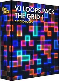 VJ Loops Pack The Grid 1