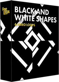 Black and White Shapes