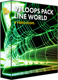 VJ Loops Pack Line World