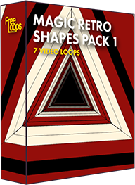 Magic Retro Shapes Pack 1