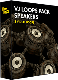 VJ Loops Pack Speakers