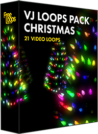 VJ Loops Pack Christmas