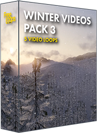 Winter Videos Pack 3