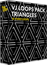 VJ Loops Pack Triangles