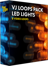 VJ Loops Pack LED Lights