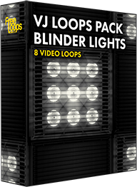 VJ Loops Pack Blinder Lights