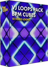 VJ Loops Pack BPM Cubes