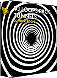 VJ Loops Pack Tunnels