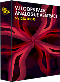 VJ Loops Pack Analogue Abstract