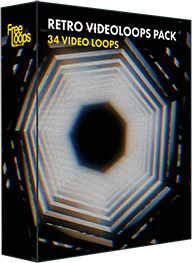 Retro Videoloops Pack