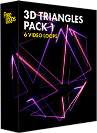 3D Triangles Pack 1