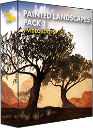 Painted Landscapes Pack 1