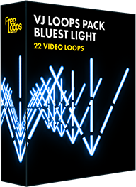 VJ Loops Pack Bluest Light